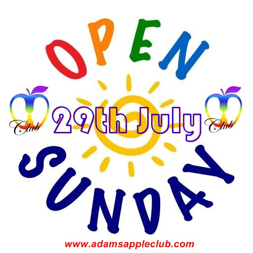29.07.2018 Adams Apple Club open Sunday a