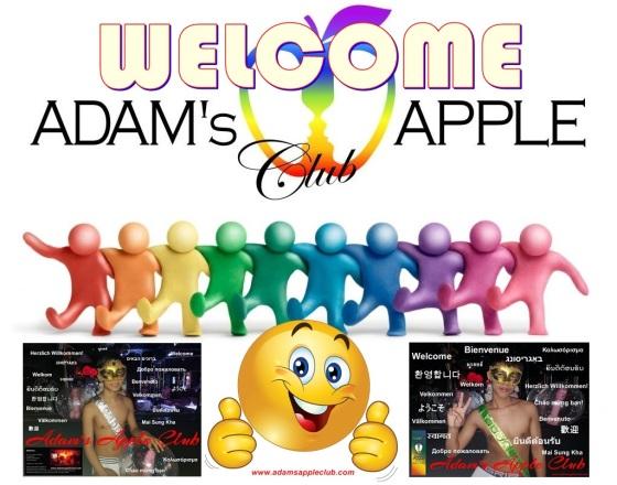 Adams Apple Club Welcome