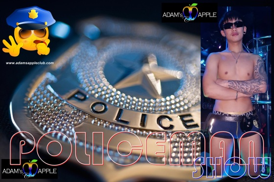 Adams Apple Club POLICEMAN SHOW