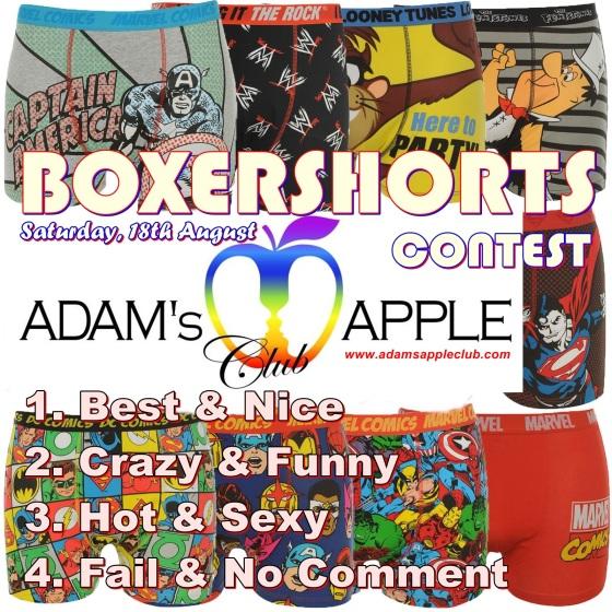 OXERSHORTS CONTEST Party Adams Apple Club