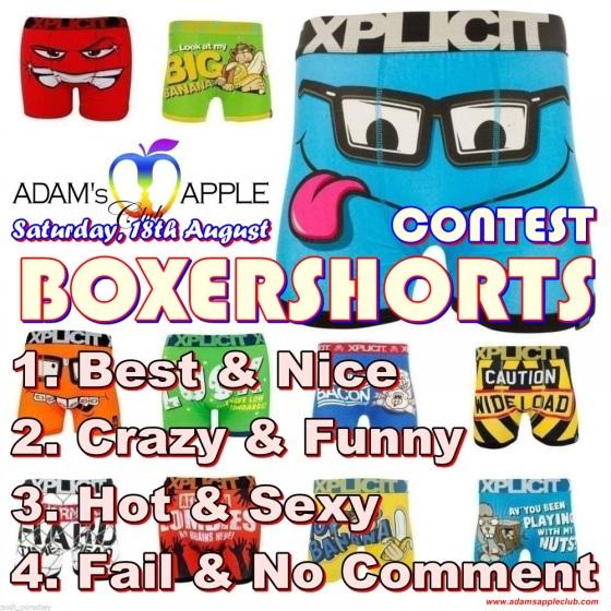 10.08.2018 BOXERSHORTS Party Adams Apple Club aaaa