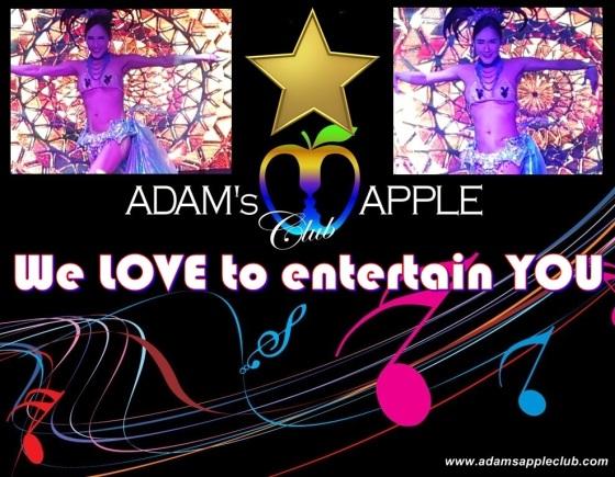 TERRIFIC CABARET Adams Apple Club Chiang Mai