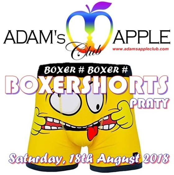 BOXERSHORTS Party Adams Apple Club