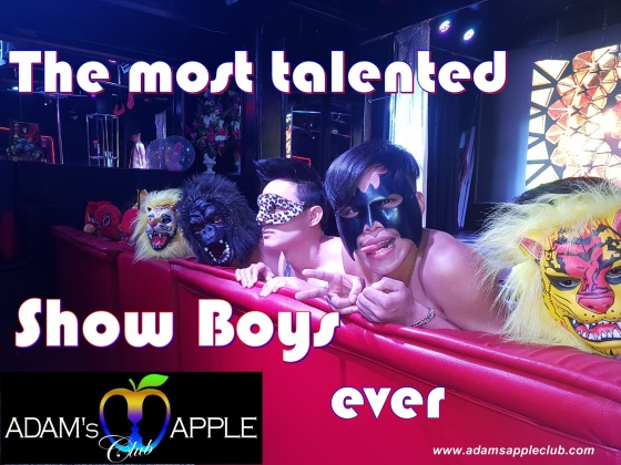 Adams Apple Club The most talented Show Boys ever