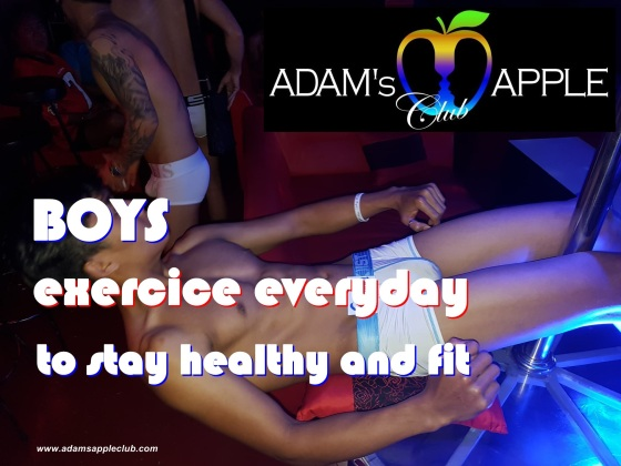 Our Boys exercice everyday to stay healthy and fit!