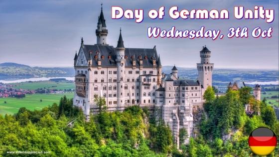 Day of German Unity Adams Apple Club