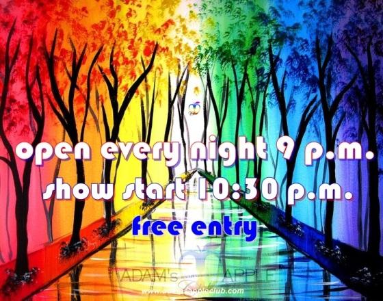 Open Show Adams Appel Club