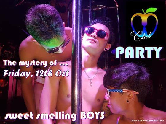Adams Apple Club The mystery of sweet smelling BOYS