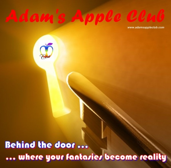 Behind the door from Adam's Apple Club Chiang Mai