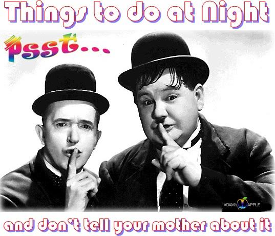 Things to do at Night Adams Apple Club
