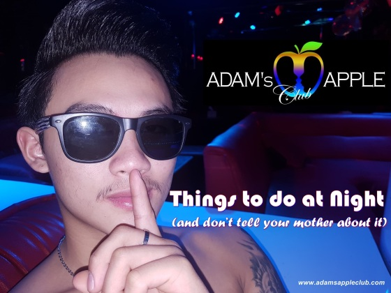 Things to do at Night Adams Apple Club