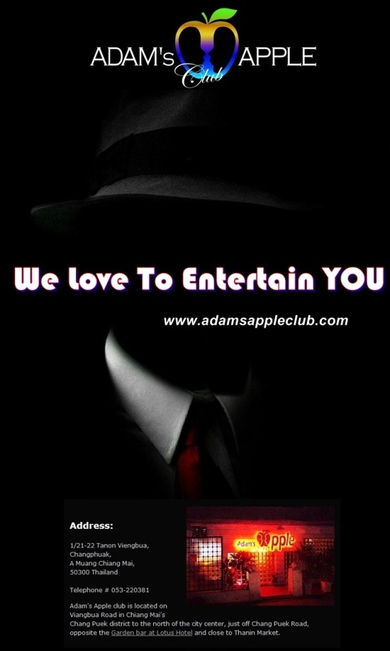 Adams Apple Club We Love To Entertain You