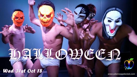 17.10.2018 Halloween Adams Apple Club a