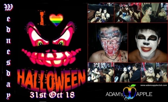 Halloween Adams Apple Club Chiang Mai