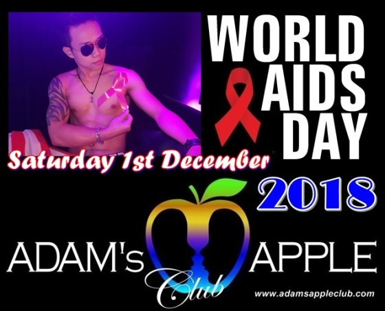 World-Aids-Day 2018 Adams Apple Club
