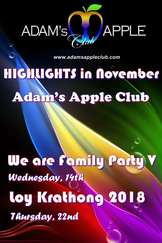 Highlights in November 2018 Adams Apple Club