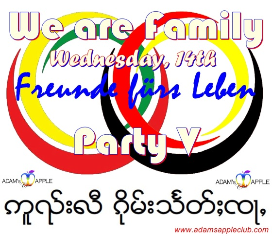 We are Family Party V Adams Apple Club Chiang Mai