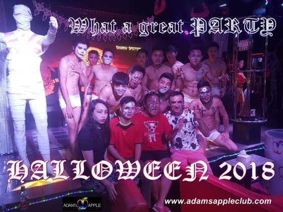 Halloween Adams Apple Club Chiang Mai Boy
