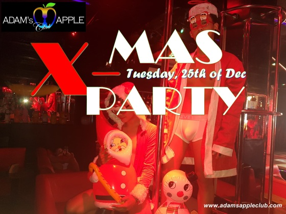 X-MAS PARTY 2018 Adam's Apple Club