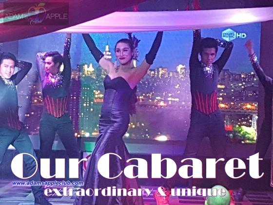Our extraordinary & unique Cabaret Adams Apple Club Chiang Mai