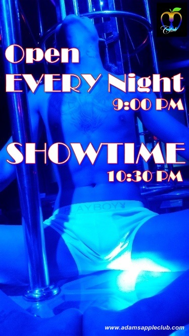 SHOWTIME every night Adam's Apple Club Chiang Mai