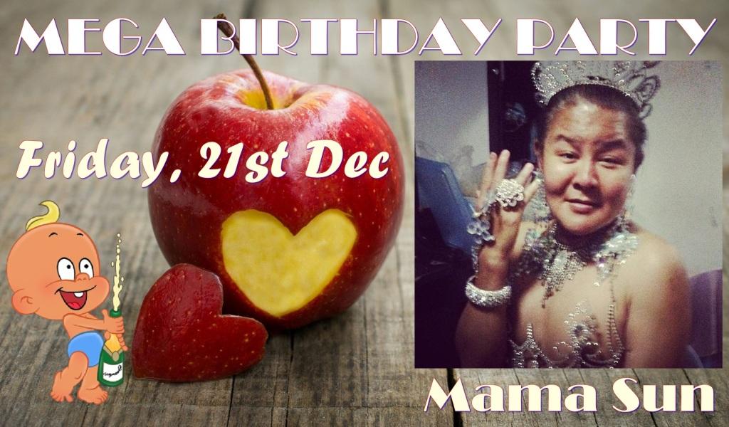 Happy Birthday Party Mama Sun Adam's Apple Club Chiang Mai