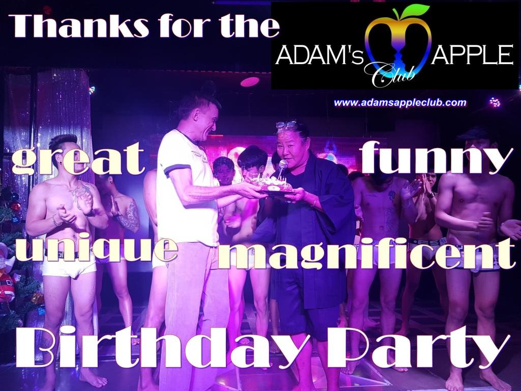 Great HBD Party Mama Sun Adams Apple Club