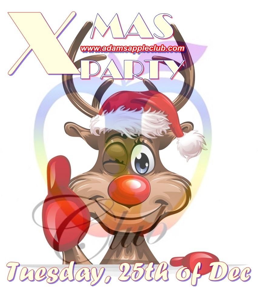 Ho Ho Ho ... X-MAS-Party-Adams-Apple-Club