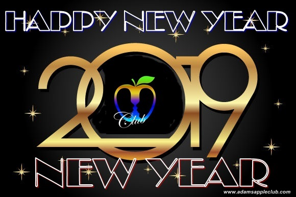 Happy New Year 2019 Adams Apple Club