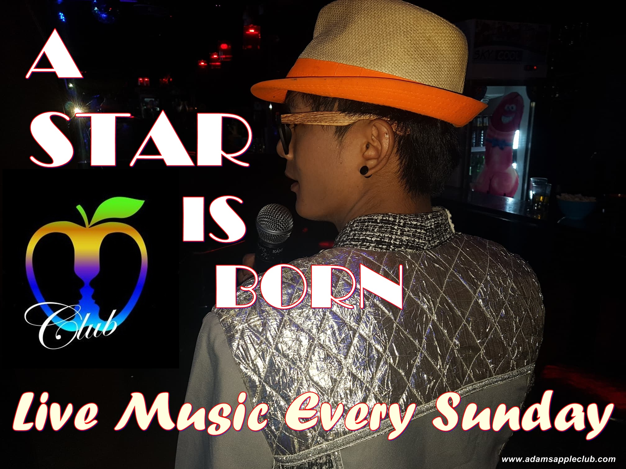 A STAR IS BORN Adams Apple Club Chiang Mai