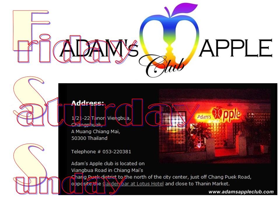 Adams Apple Club Chiang Mai Weekend