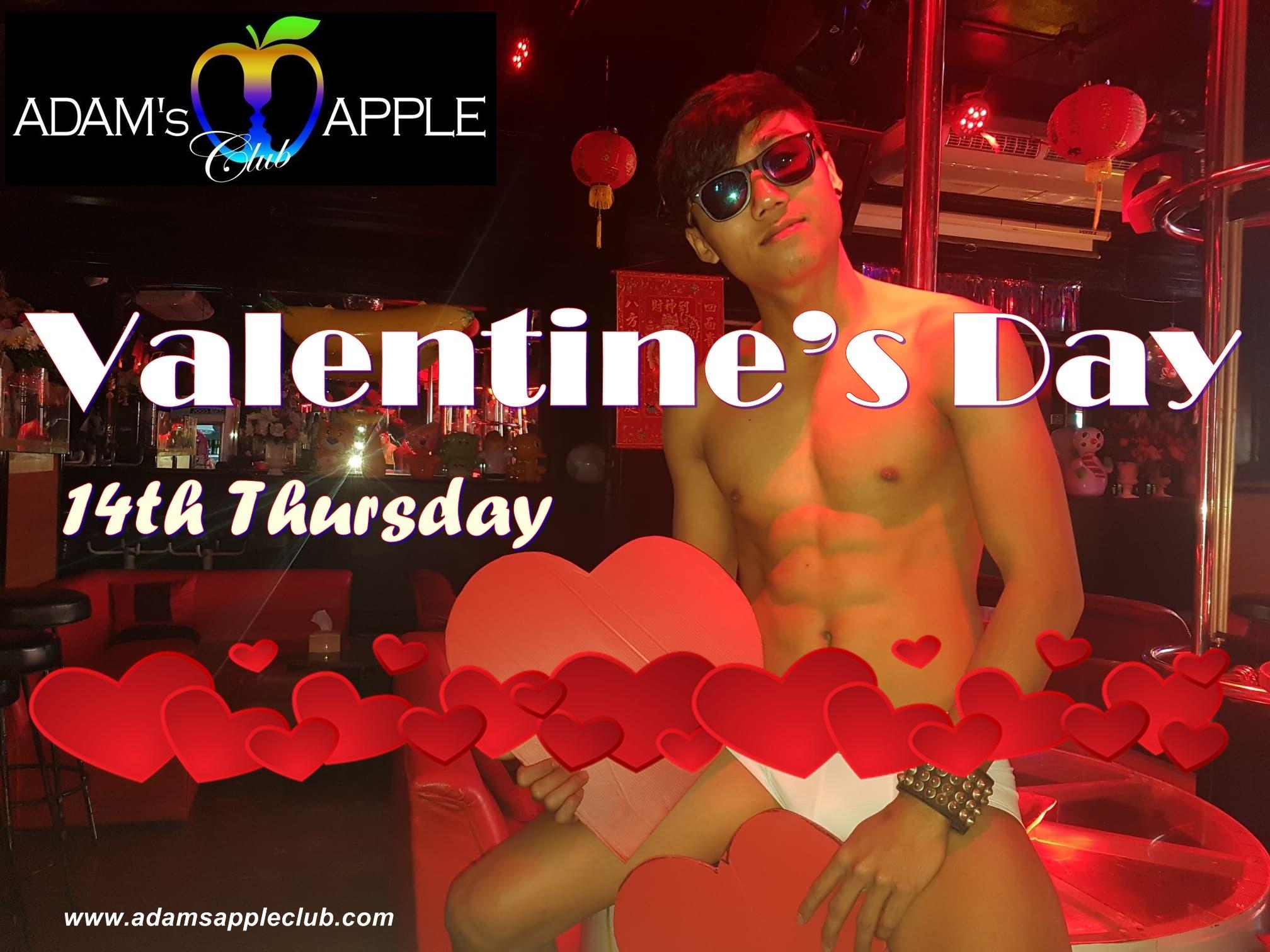 Valentine's Day Adams Apple Club Chiang Mai