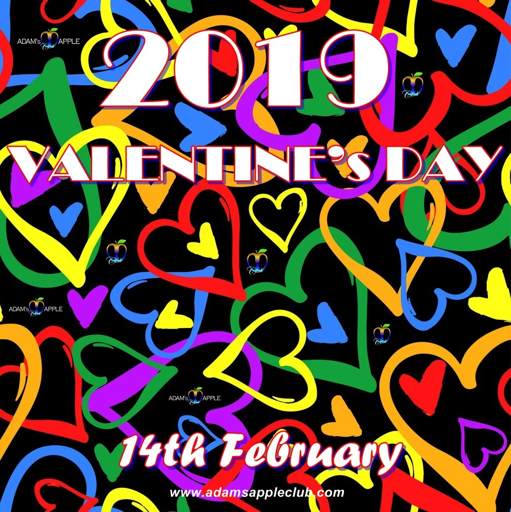 Valentine's Day 2019 Adam's Apple Club Chiang Mai