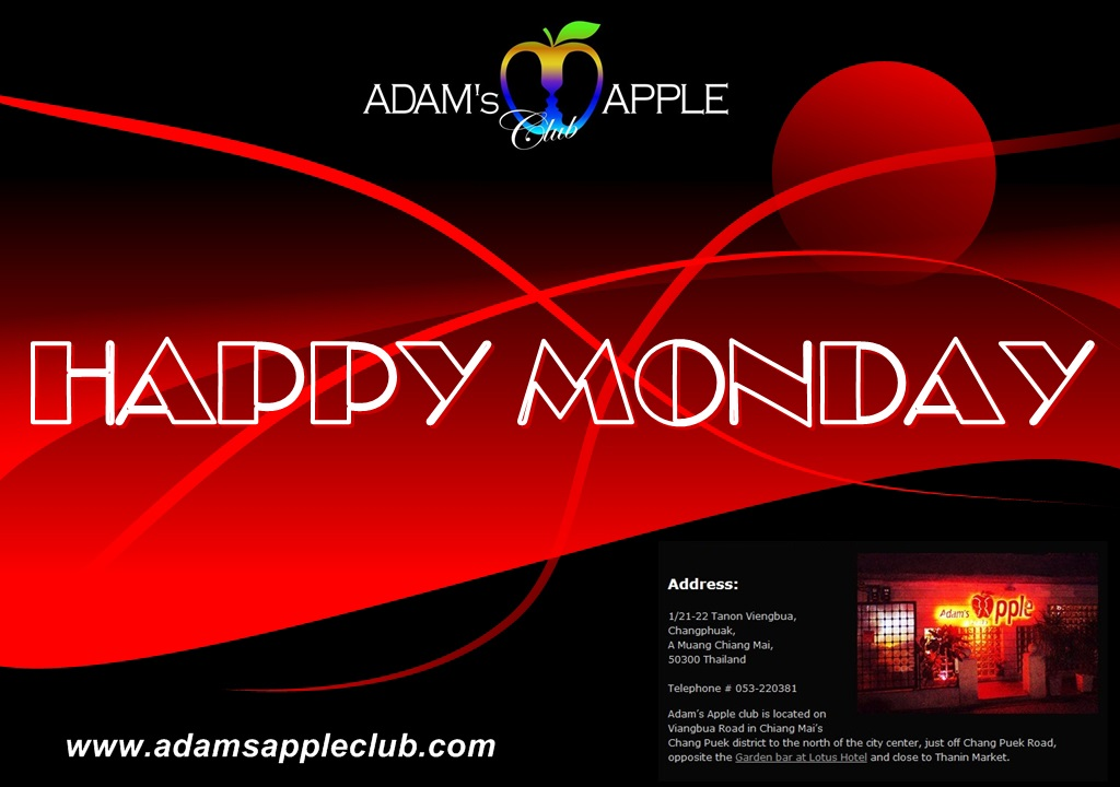 Happy Monday Adams Apple Club