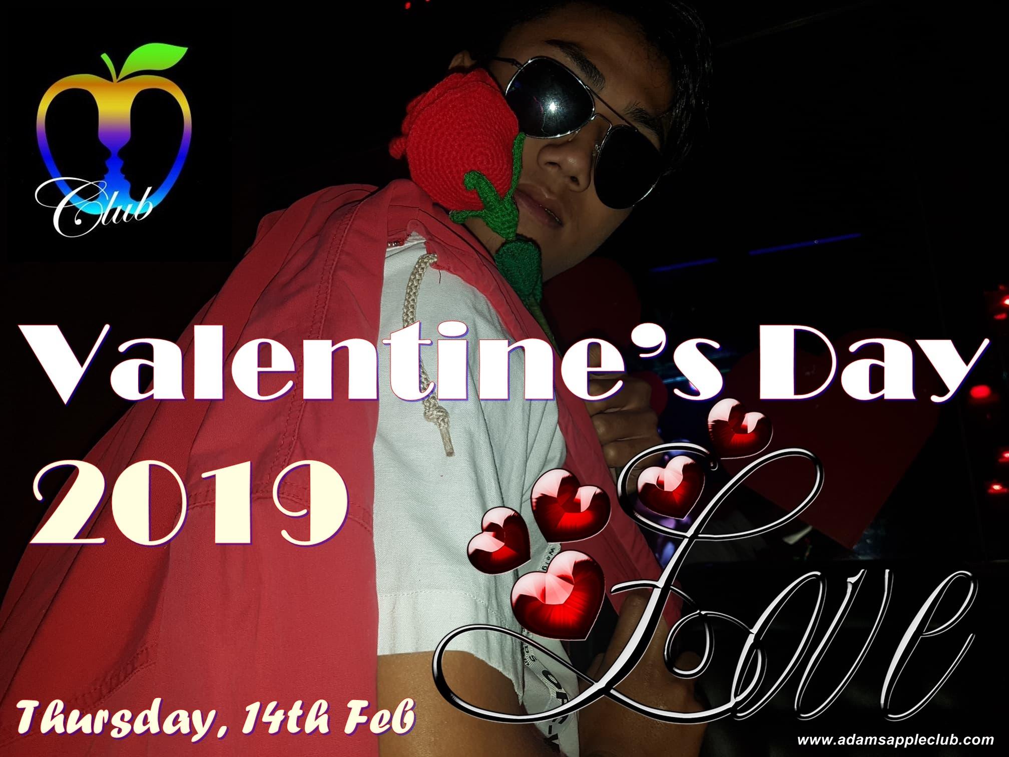 Valentine Day 2019 Adams Apple Club Chiang Mai
