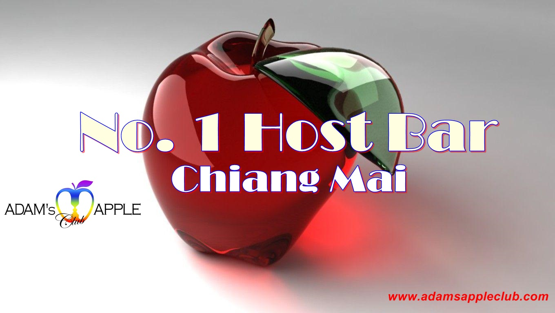No. 1 Host Bar Adam's Apple Club Chiang Mai