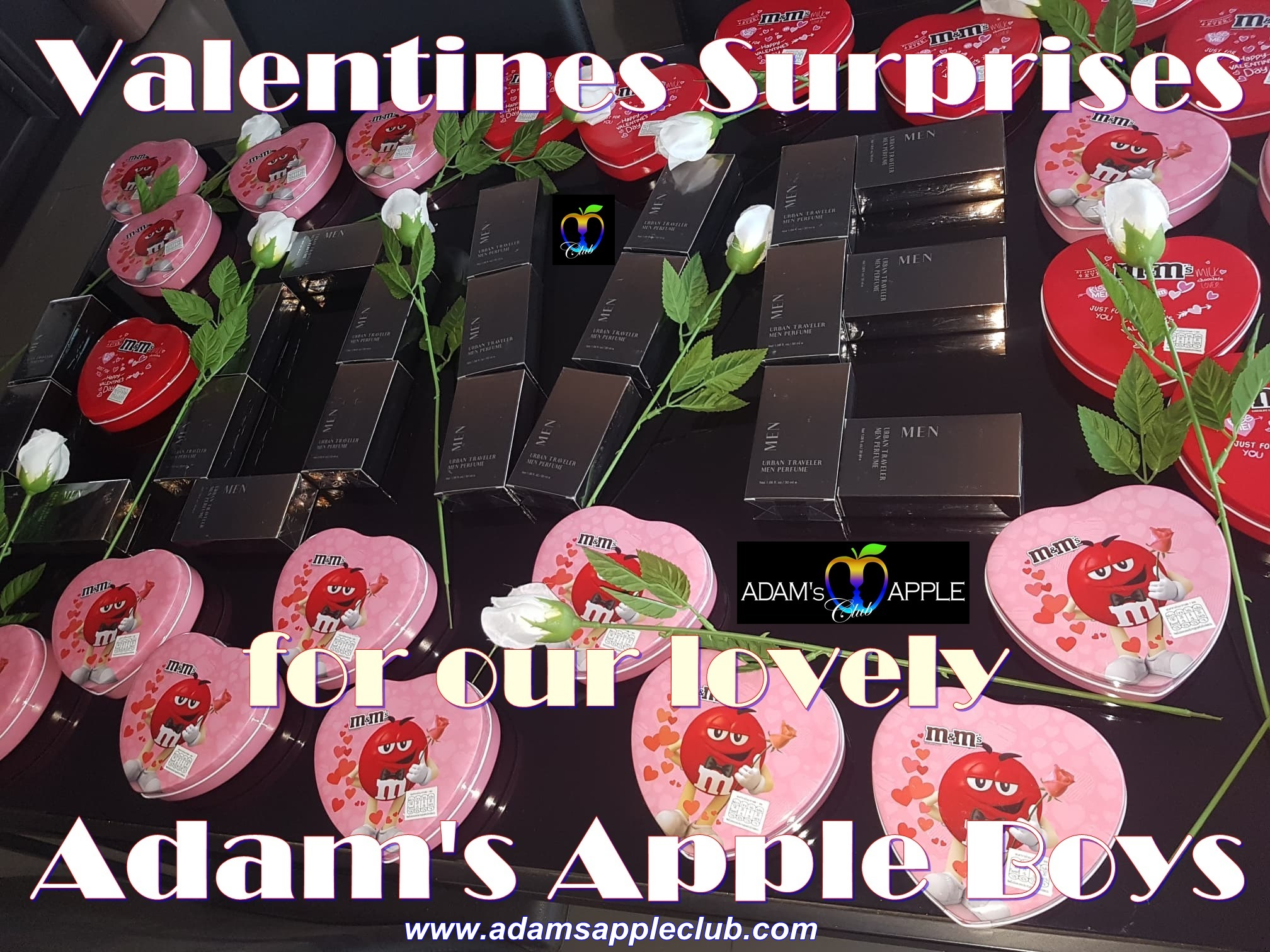 Valentines Surprises for our lovely Adams's Apple Boys