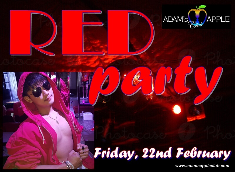 Red Party Adams Apple Club Chiang Mai