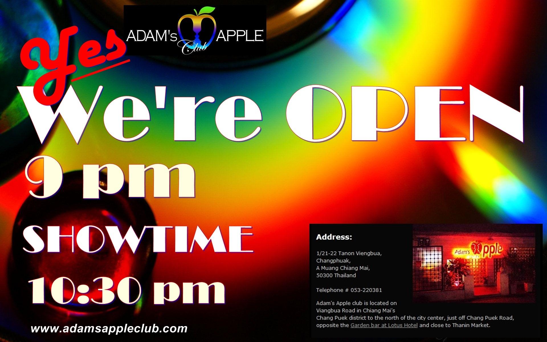 Adams Apple Club Chiang Mai OPEN Map