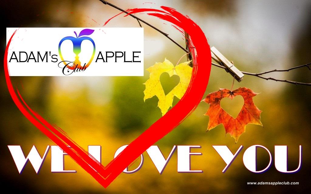Adam's Apple Club Chiang Mai We Love You