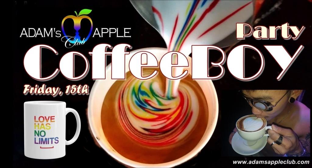 CoffeBoy Party Adams Apple Club Chiang Mai