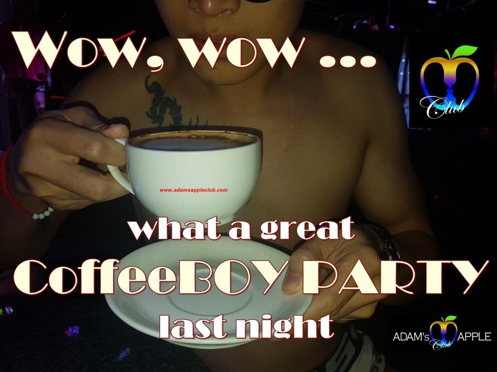 CoffeeBOY Party Adams Apple Club