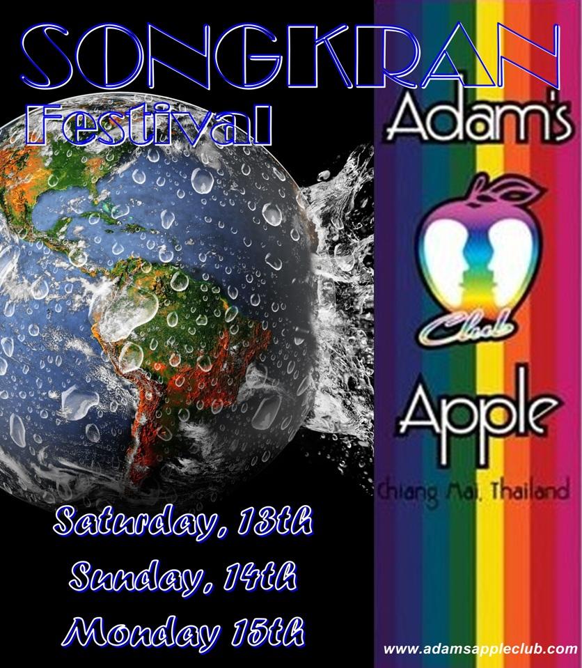 Songkran 2019 Adams Apple Club Chiang Mai