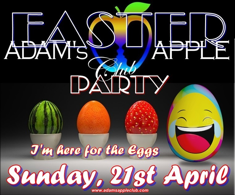 Giant Easter Party Admas Apple Club CNX