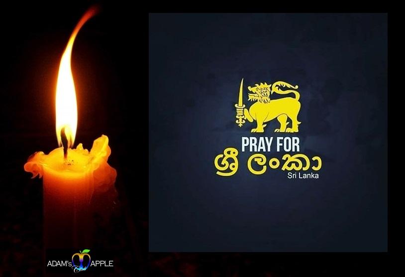 Pray for Sri Lanka Adams Apple Club