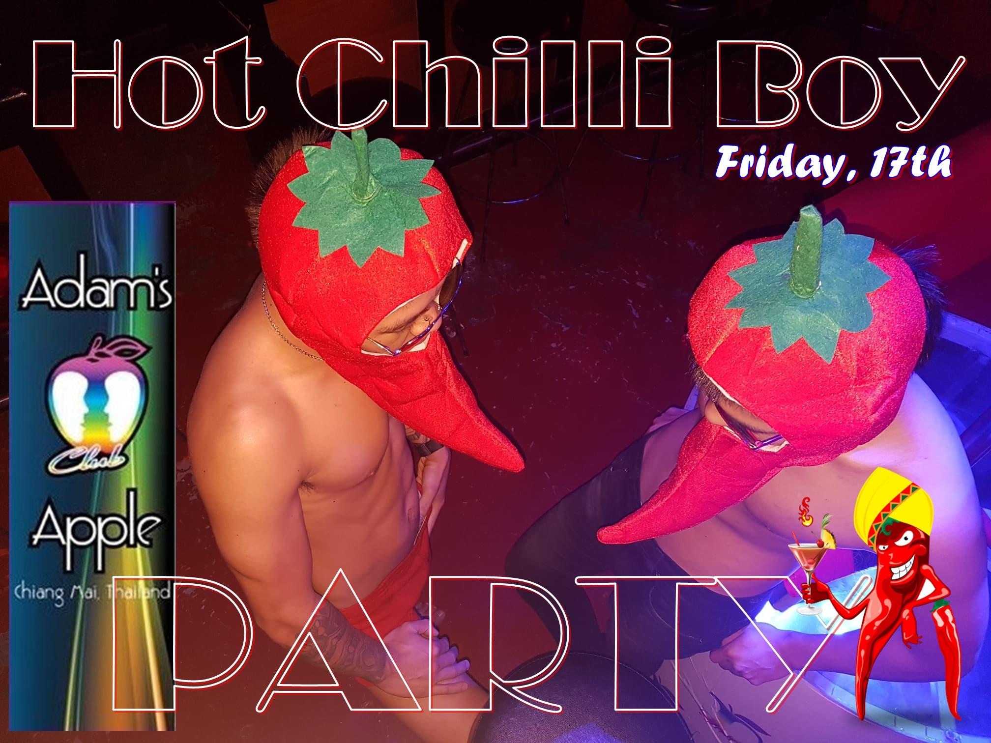 Hot Chilli Boy Party Adams Apple Club CNX