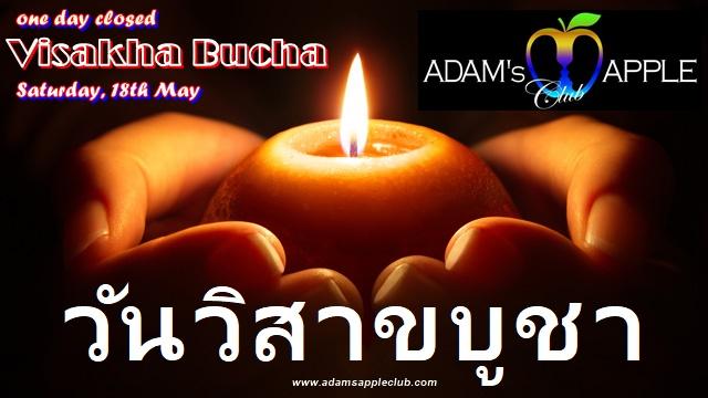 Visakha Bucha Day Adams Apple Club Chiang Mai