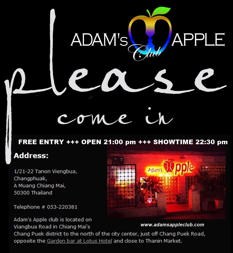 Welcome Adams Apple Club Chiang Mai