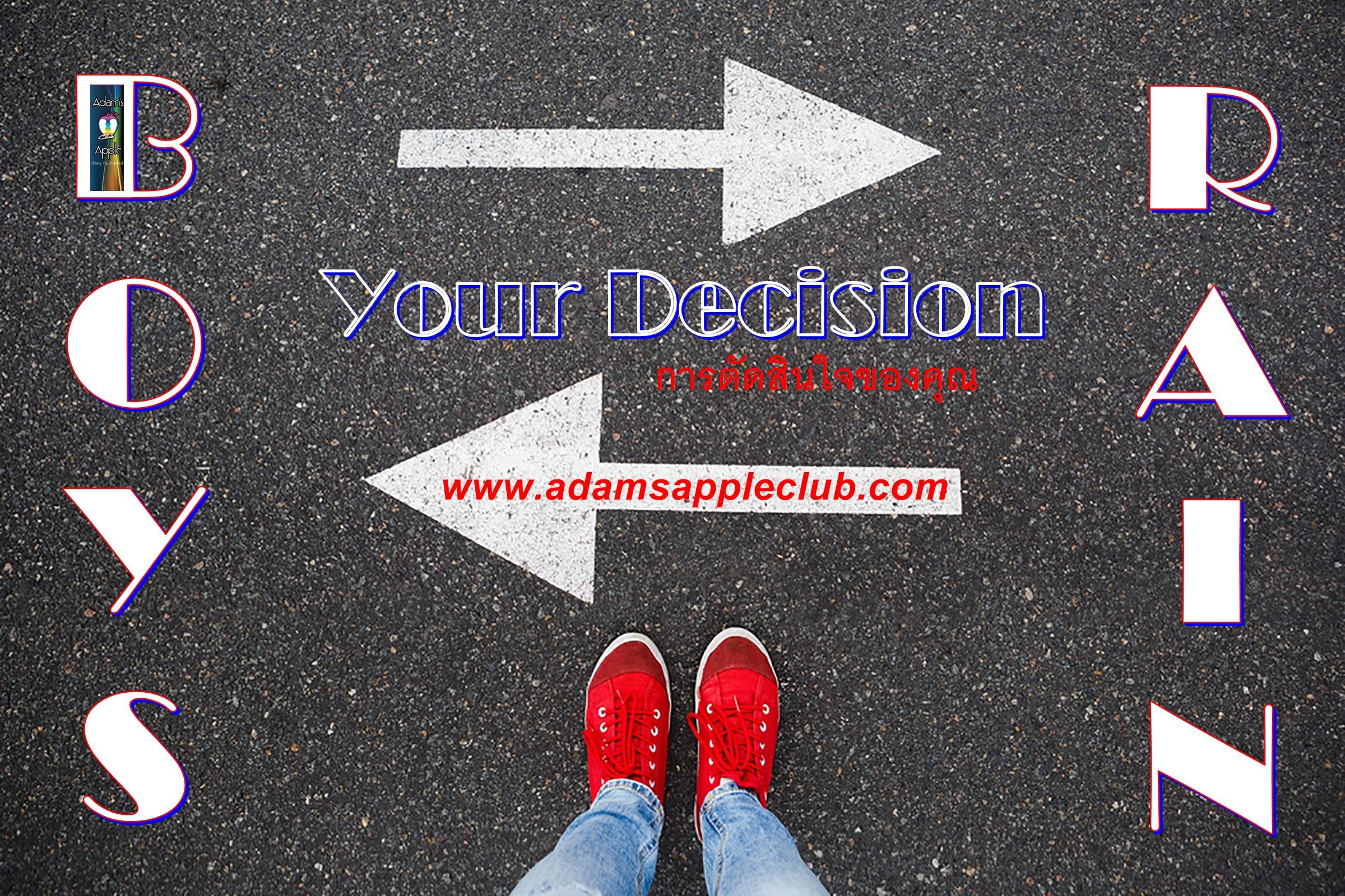 Your decision Boys or Rain Adam's Apple Club Chiang Mai