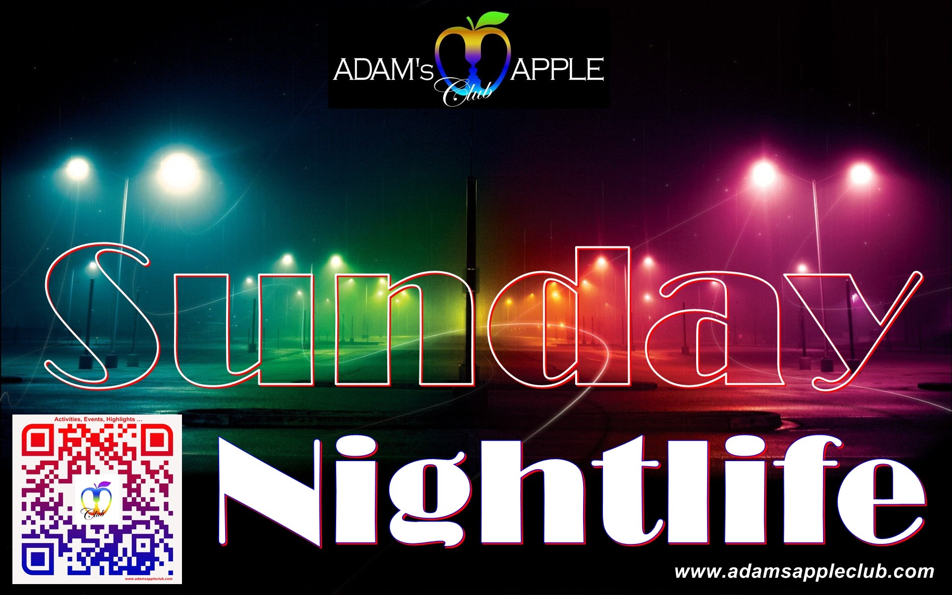 Sunday Nightlife Adams Apple Club Chiang Mai